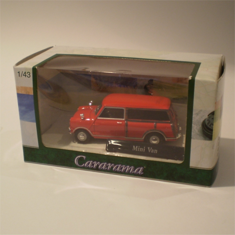 Cararama 251d Morris Mini Van