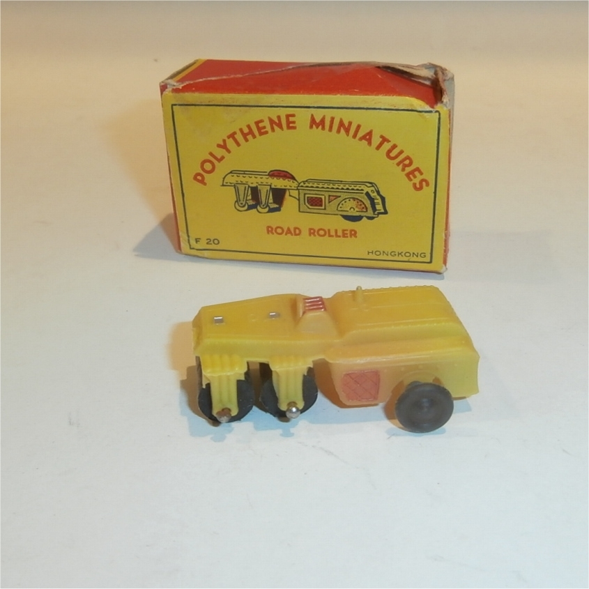 Polythene Miniatures 20 Road Roller
