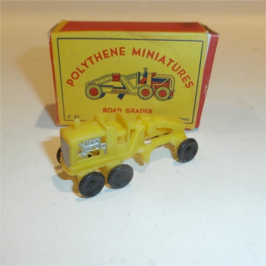 Polythene Miniatures 21 Road Grader