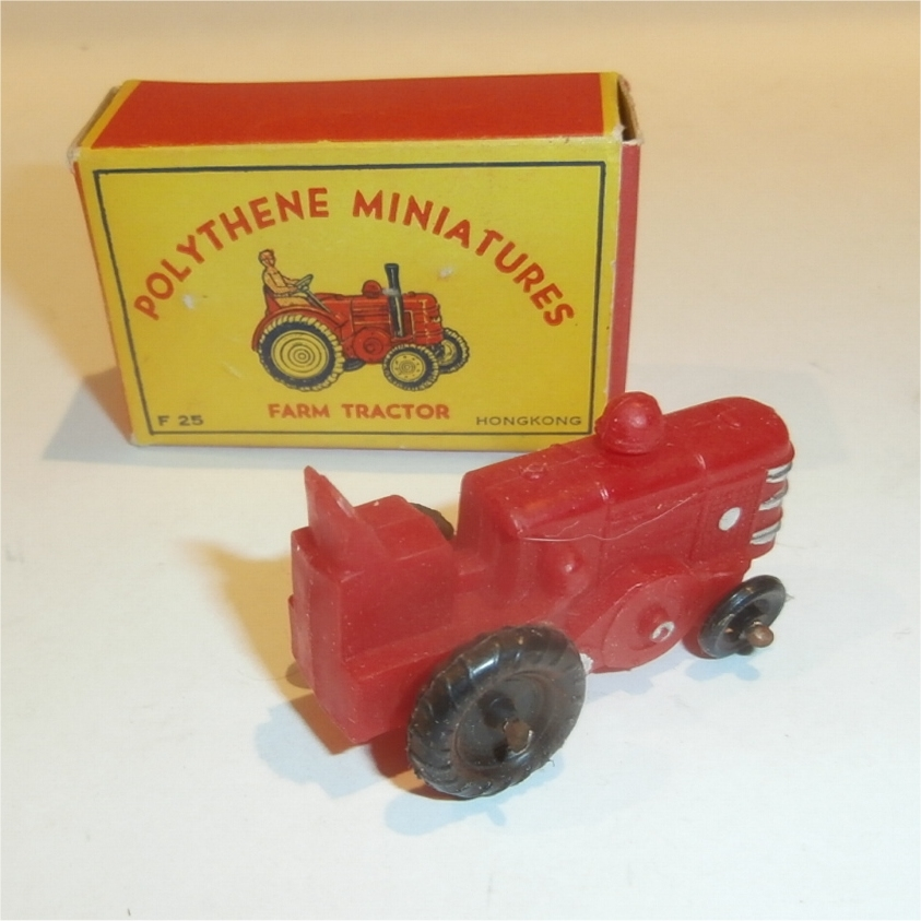 Polythene Miniatures 25 Tractor