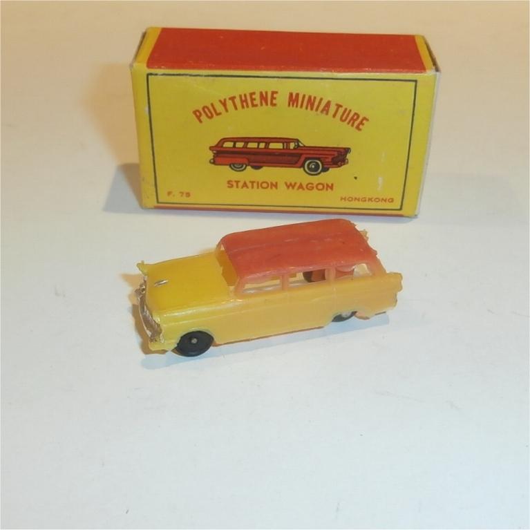 Polythene Miniatures 75 Ford Wagon