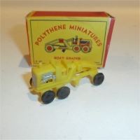 Polythene Miniatures 21 Road Grader
