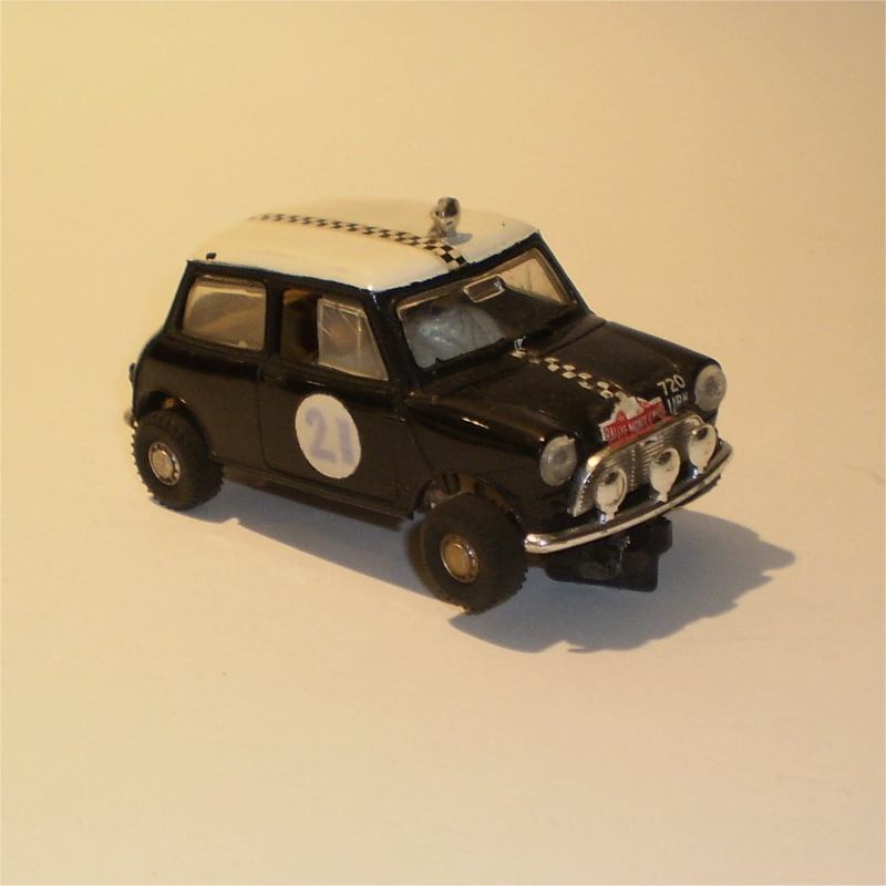 Scalextric C7 Mini Cooper Rally