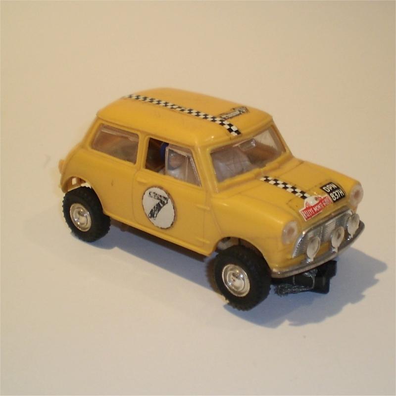 Scalextric C7 Mini Cooper Rally Yellow