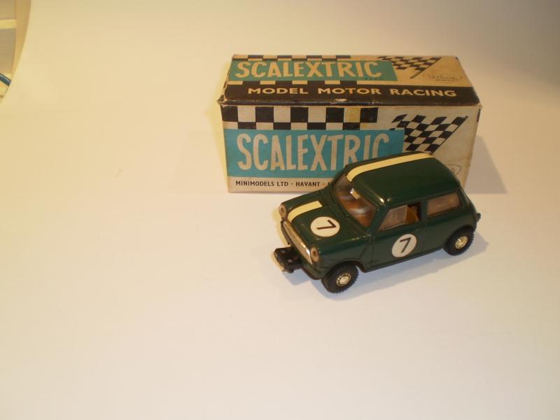 Scalextric C76 Mini Cooper Green #2