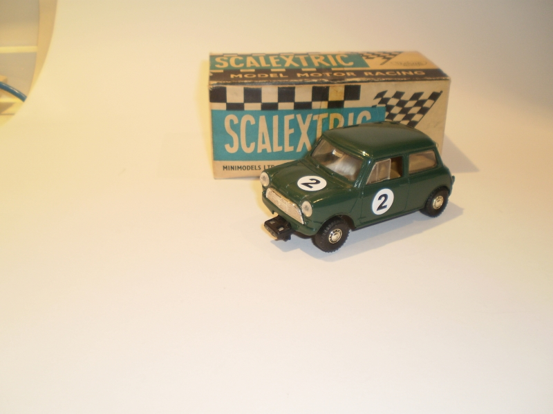 Scalextric C76 Mini Cooper Green #3