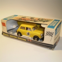 Scalextric C7 Mini Cooper Rally Yellow