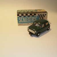 Scalextric C76 Mini Cooper Green #1