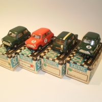 Scalextric C76 Mini Cooper group