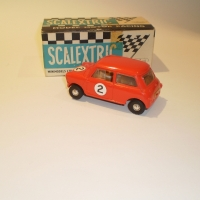 Scalextric C76 Mini Cooper Red