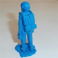Spaceman Blue rear view