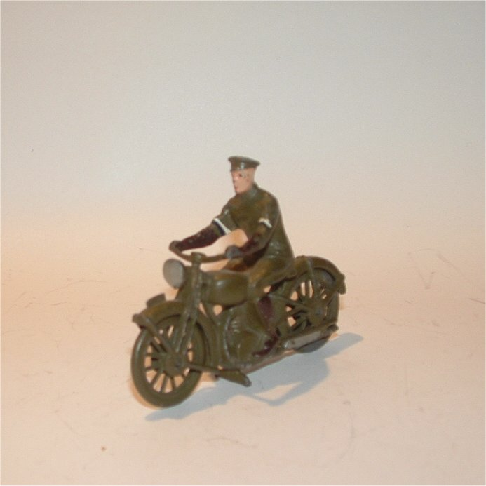 Motorcycle with Rider Unidentified