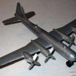 A Pope Product B-29 SupaFort model Plane