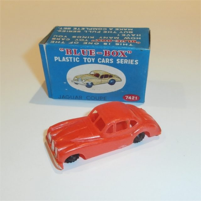 Blue Box Plastic Toys
